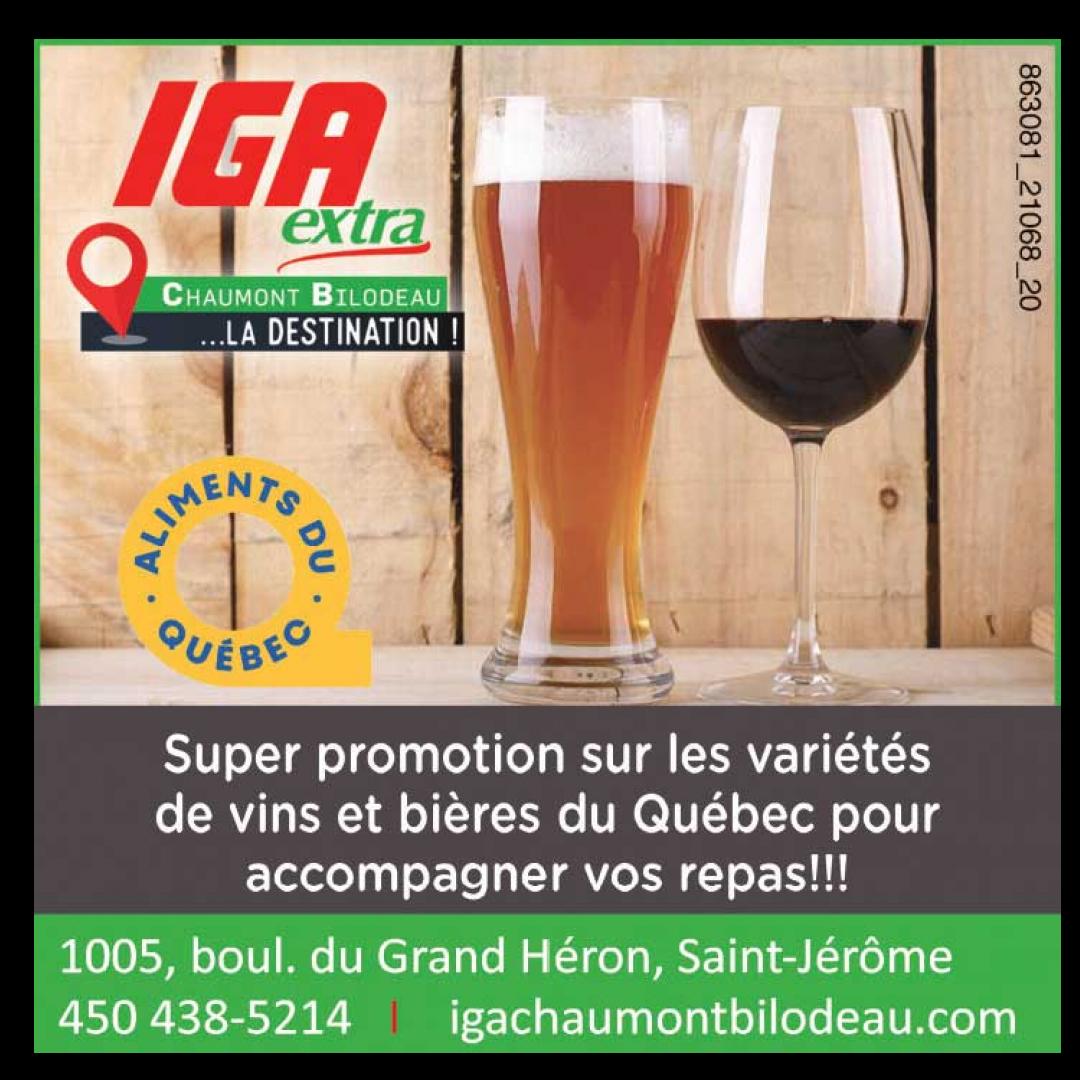 Promotions bières et vins  décembre
